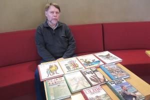Mats Johansson på biblioteket i Nybro har så smått börjat planera för en utställning om Runer Jonsson.
