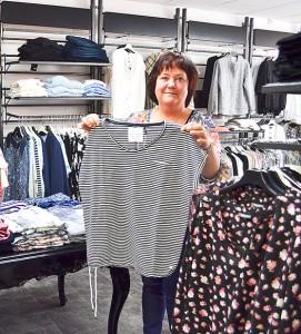Ann-Sofi Westerlund valde ut kläderna.