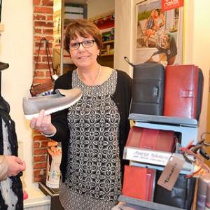 Snygga passande skor fanns hos Anna Larsen.