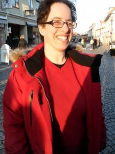 Anna Sverkén hade en trevlig kväll.