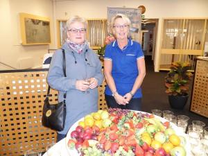 På Handelsbanken fick Rose-Marie Brandstedt en pratstund med Carina Harrysson.