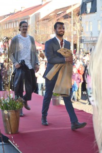VarDags modeller Hoger och Arif.