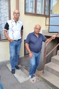 – Från och med oktober fortsätter vi vår verksamhet i källarvåningen i samma byggnad, säger Steffan och Magnus Andersson.