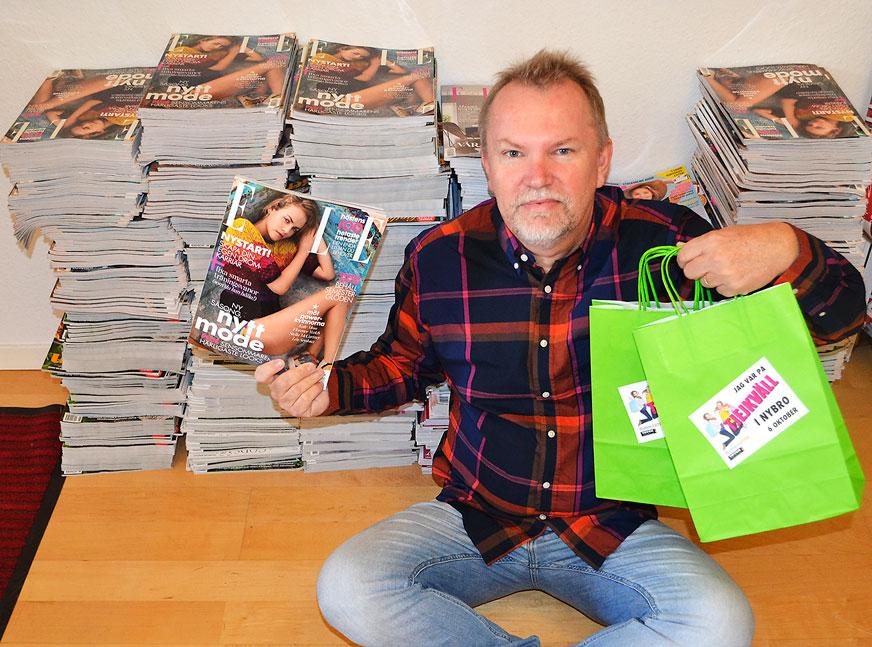 Tidningar från Tidningskungen.