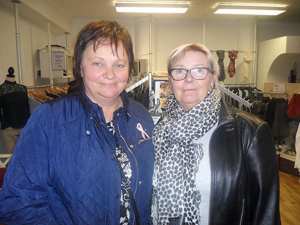 Ewa Olsson och Lena Franzén fyndade hos Studio 100.