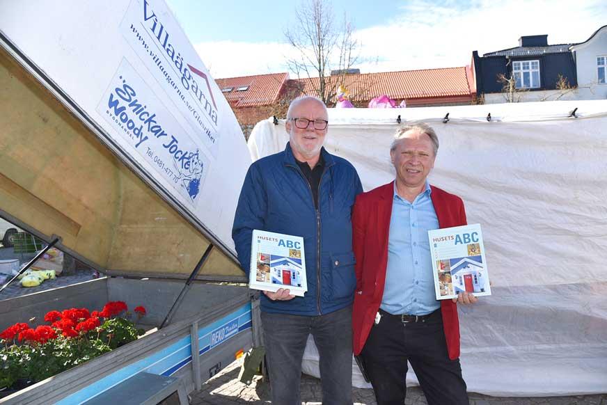 Mats Arnér och Jan-Åke Karlsson gav information från Villaägarna.