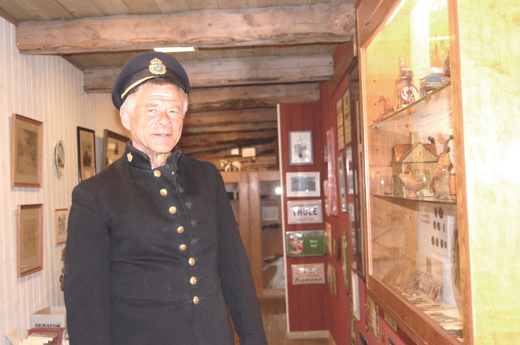 I rollen som lagens väktare hade Anders Haraldsson en lugn dag i kyrkstallarna.